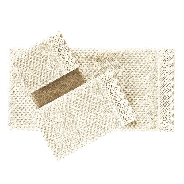 100% Cotton Fingertip Towel by Ophelia & Co.